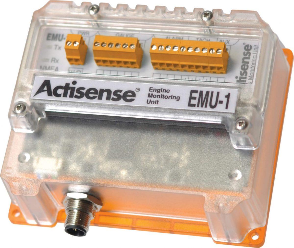EMU-1 NMEA 2000® Engine Monitoring Unit