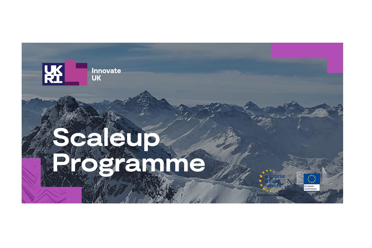 Scale Up Programme: Innovate UK