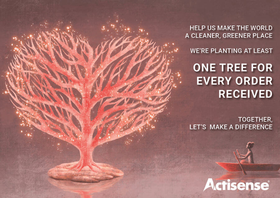 A tree planted for every Actisense order