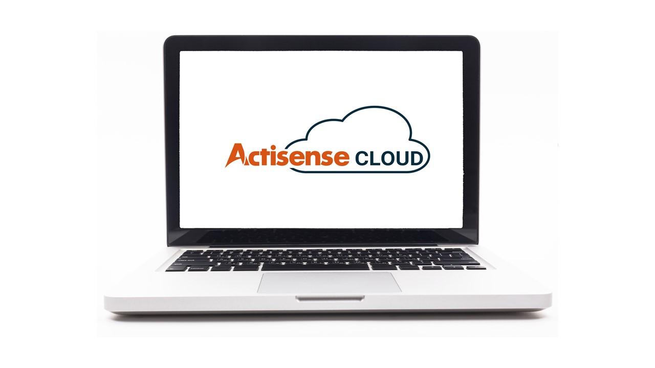 ActisenseCloud laptop